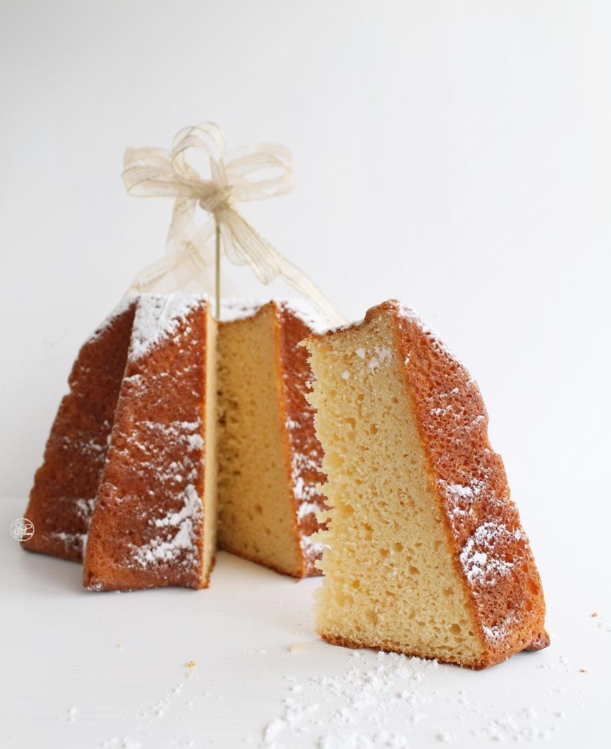 Pandoro au levain sans gluten - La Cassata Celiaca