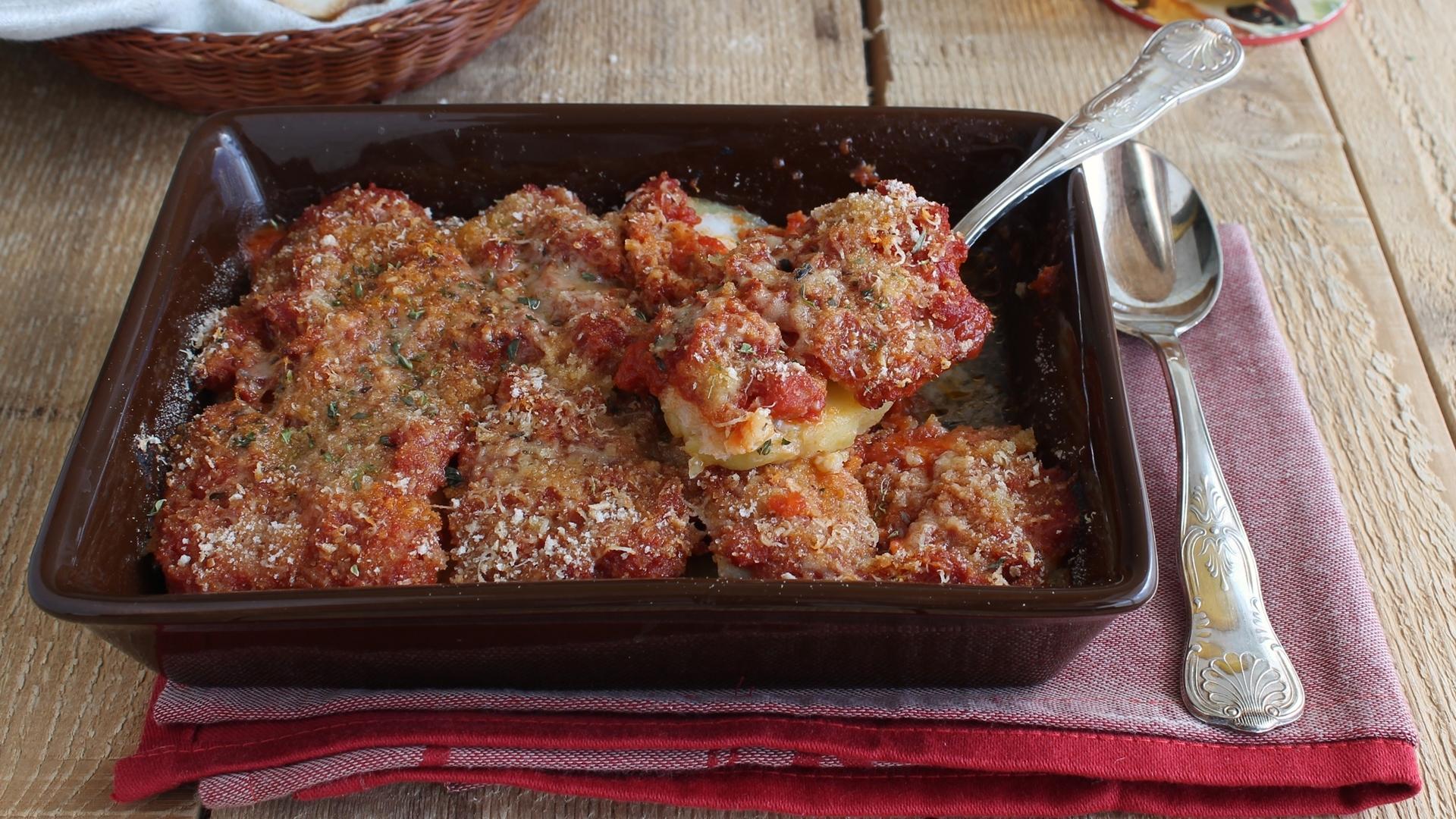 Baccalà a sfincione senza glutine - La Cassata Celiaca