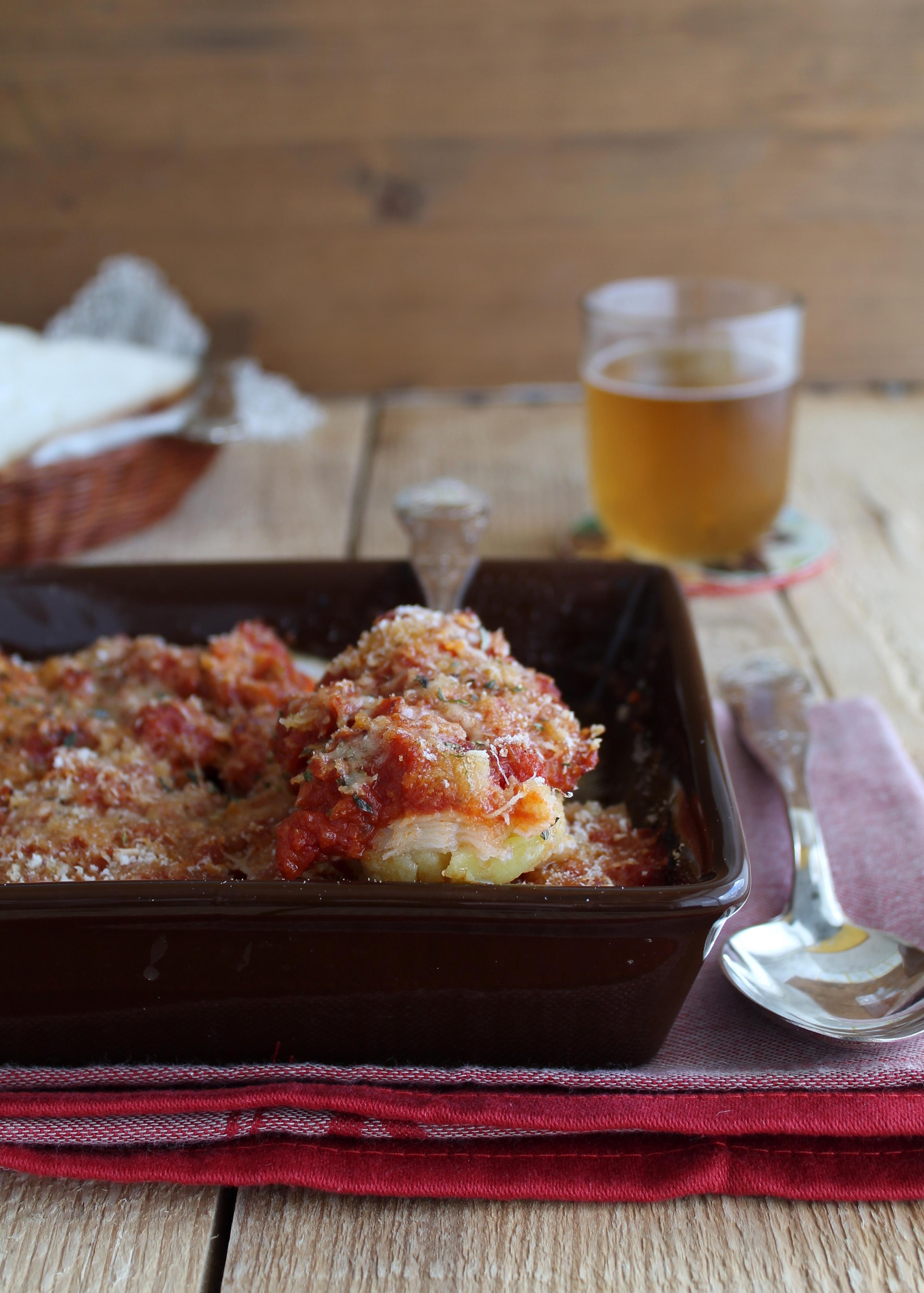 Stockfish  à la palermitaine sans gluten - La Cassata Celiaca