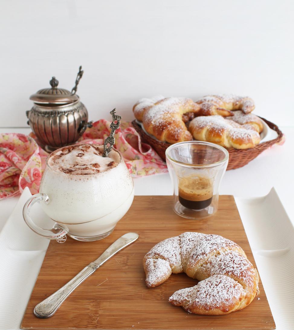 Cornetti di brioche senza glutine - La Cassata Celiaca