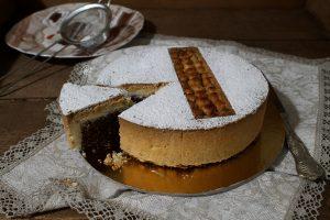 Tarte aux noisettes sans gluten - La Cassata Celiaca