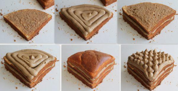 Torta al caffè e mascarpone senza glutine - La Cassata Celiaca
