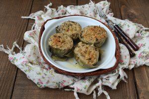 Carciofi ripieni senza glutine - La Cassata Celiaca