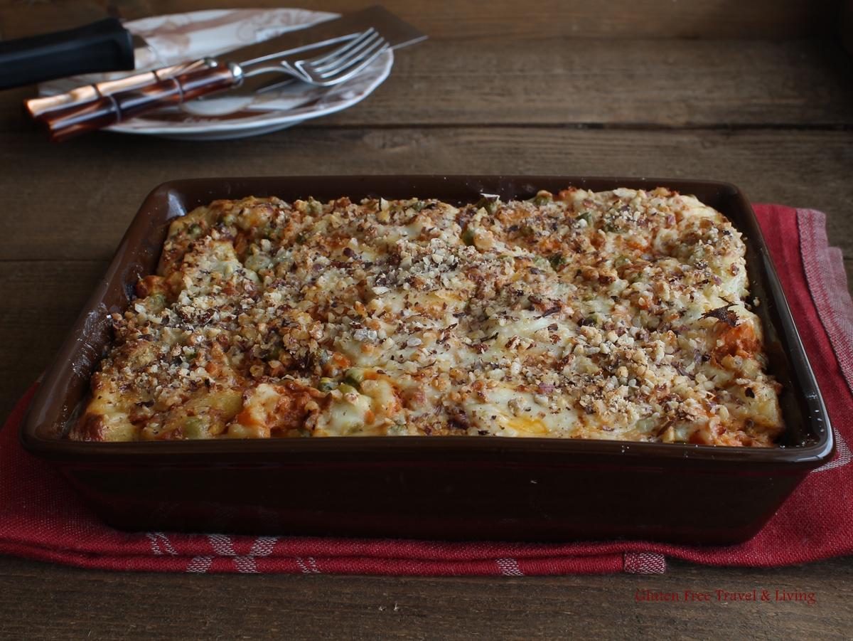Lasagne senza glutine, senza lattosio, senza carne - La Cassata Celiaca