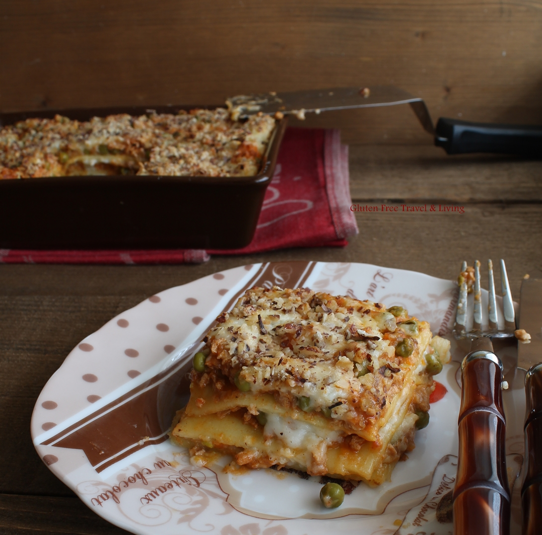 Lasagne sans gluten, sans lait, sans viande, sans œufs - La Cassata Celiaca