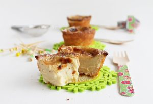 Pasteis de nata gluten free - La Cassata Celiaca