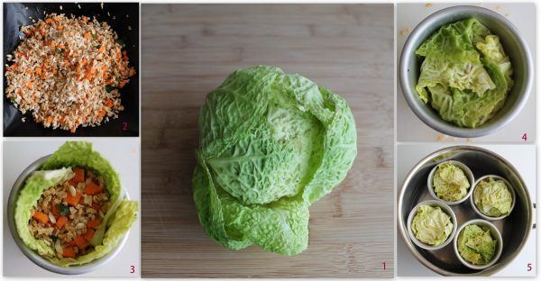 Sformatini di cavolo verza - La Cassata Celiaca