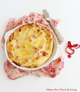 Ciabatta de pain-pizza sans gluten - La Cassata Celiaca