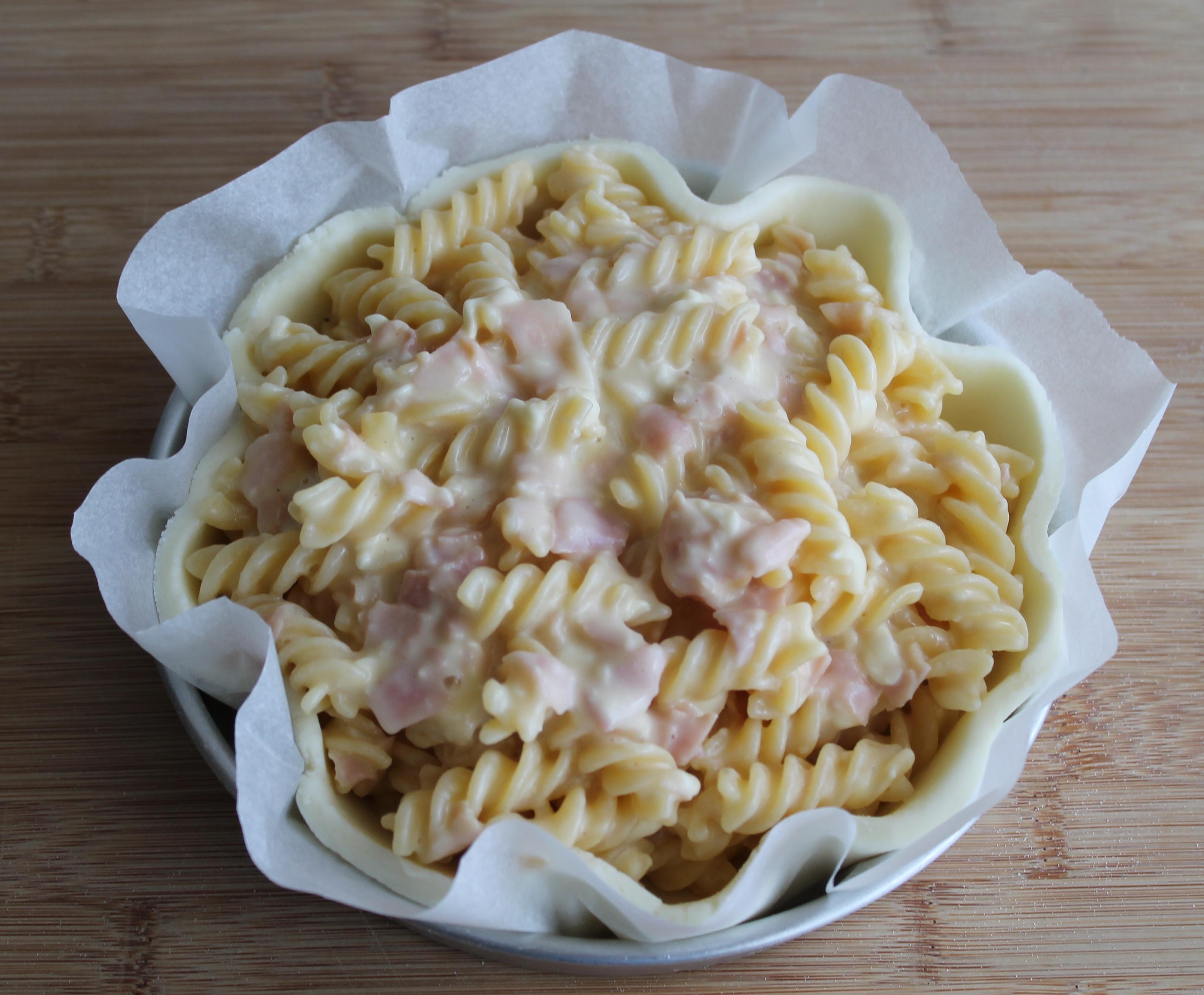 Tarte de pâtes et pâte feuilletée sans gluten - La Cassata Celiaca