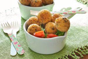 Polpettine di cous cous e soia senza glutine - La Cassata Celiaca