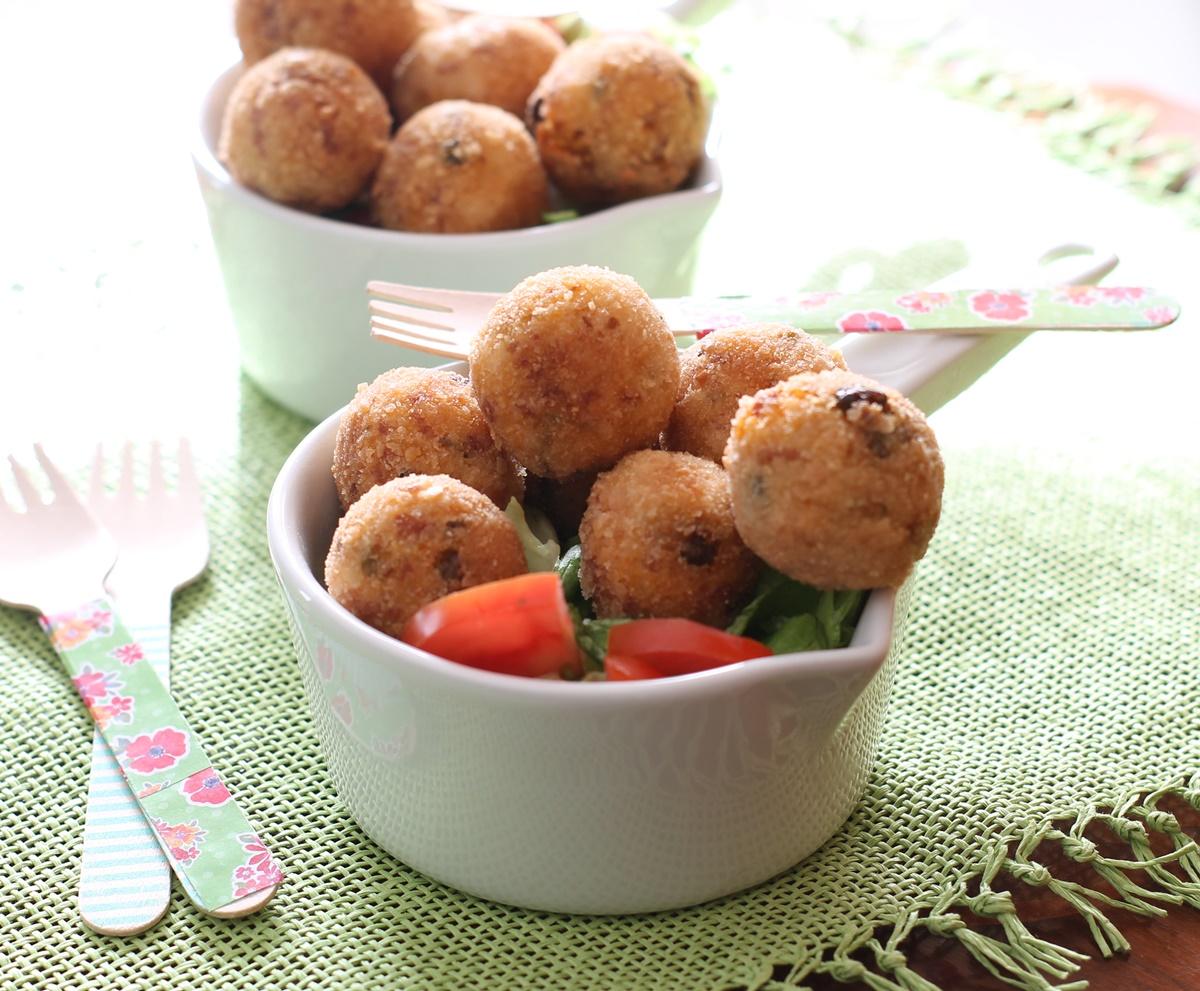 Boulettes de soia e cous cous sans gluten - La Cassata Celiaca
