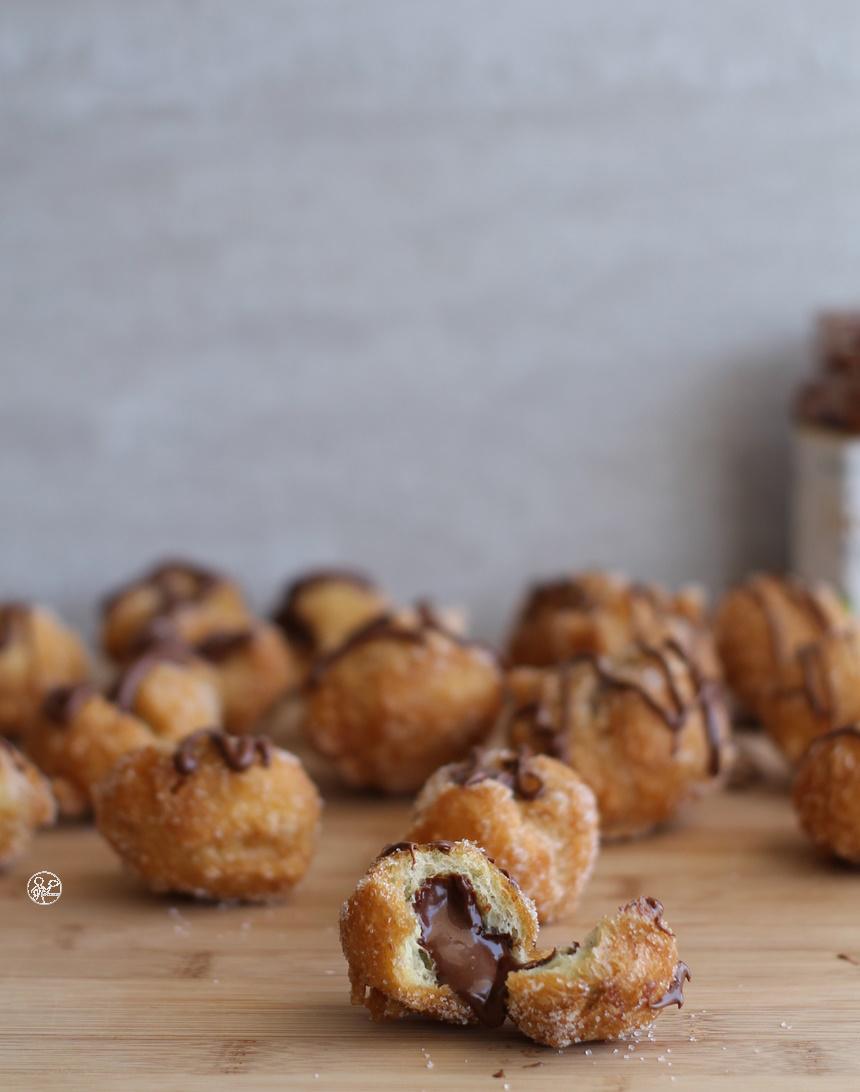 Sfincette con crema di nocciole, la video ricetta - La Cassata Celiaca