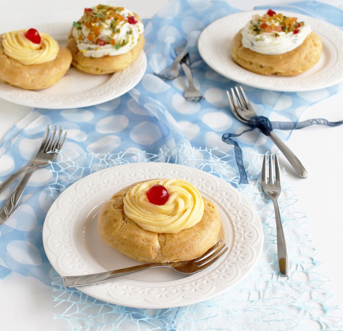 Beignets sans gluten pour Saint Joseph - La Cassata Celiaca