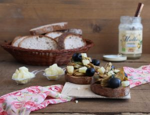 Bruschetta aux artichauts sans gluten- La Cassata Celiaca