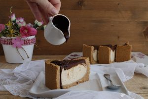 New York Cheesecake au chocolat et sans gluten - La Cassata Celiaca