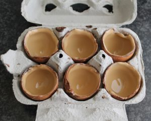 Ovetti di cioccolato con crema al mascarpone - La Cassata Celiaca