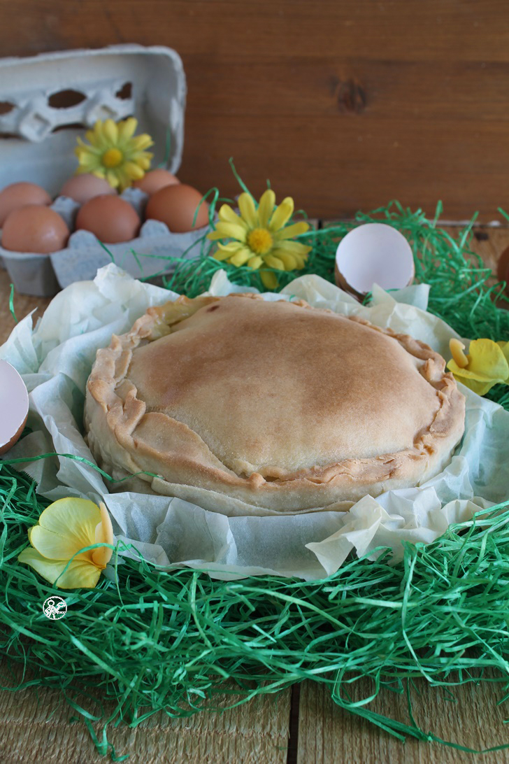 Tarte de Pâques sans gluten - La Cassata Celiaca
