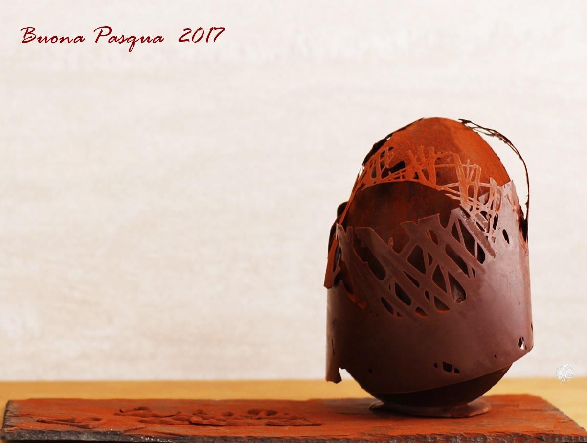 Uovo di cioccolato ai tre gusti senza glutine - La Cassata Celiaca
