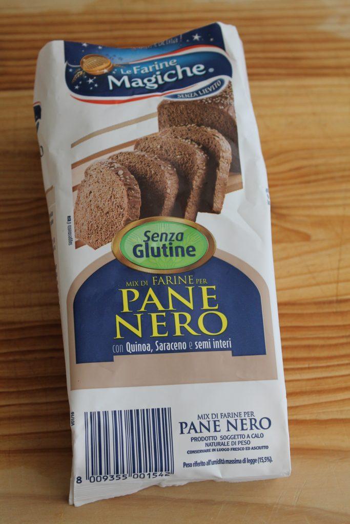 Mix per pane nero senza glutine Le farine magiche- La Cassata Celiaca