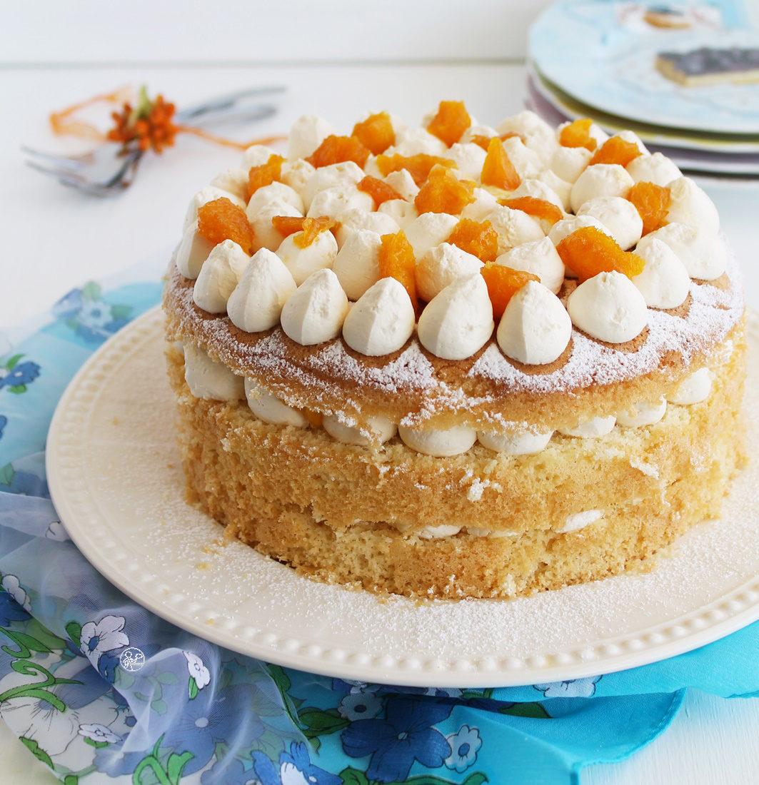 Chiffon cake au citron et orange sans gluten - La Cassata Celiaca