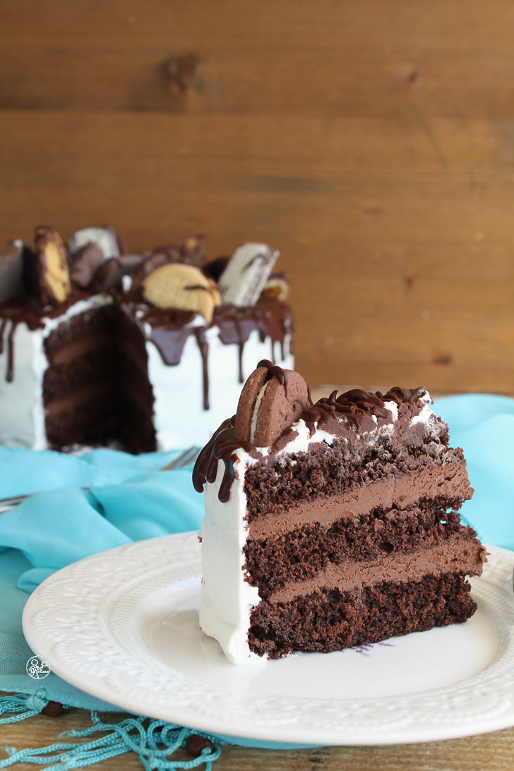 Chocolate Drip Cake senza glutine, la video ricetta - La Cassata Celiaca