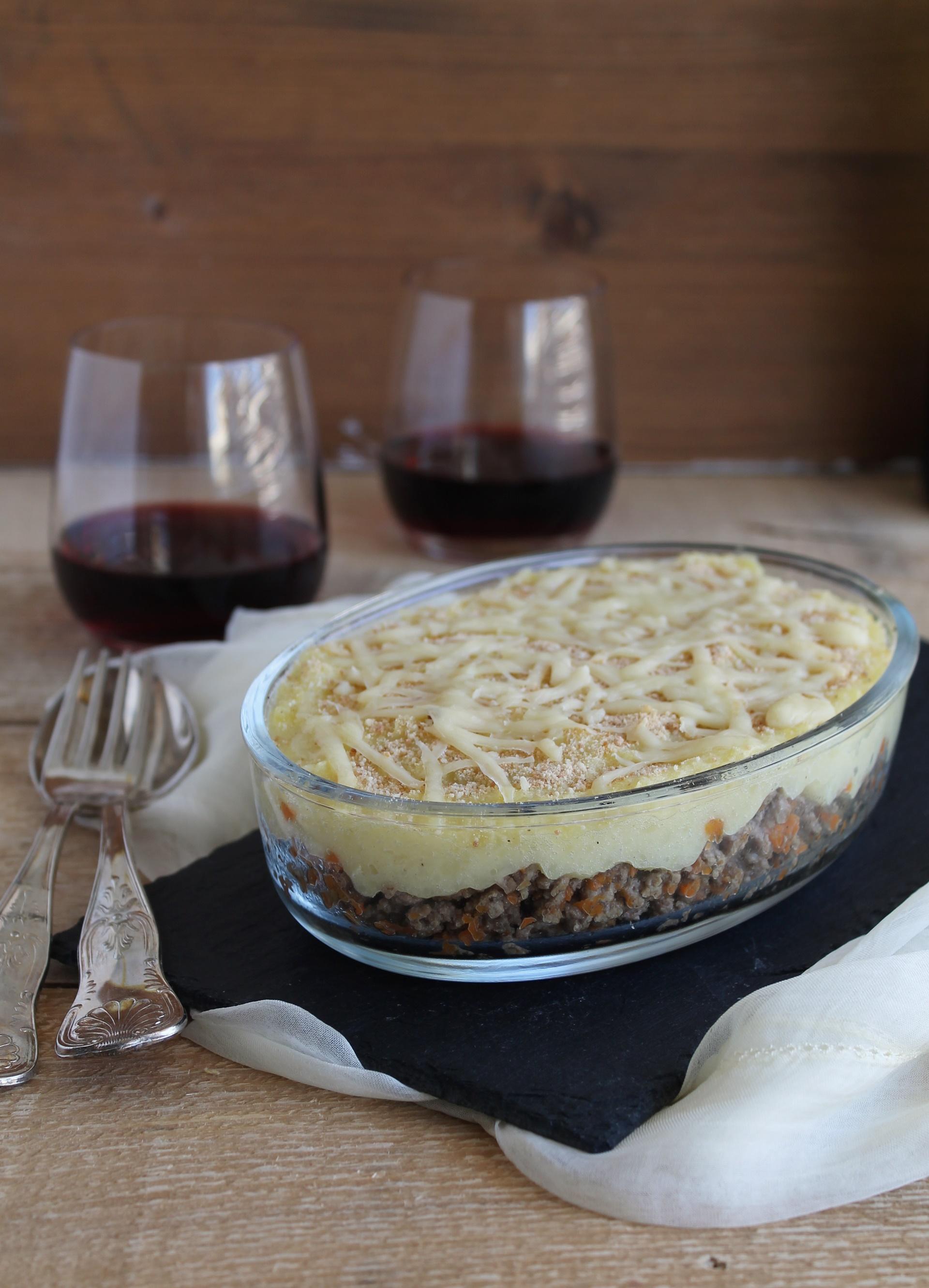 Hachis parmentier sans gluten- La Cassata Celiaca