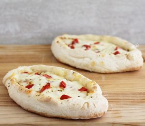 Barchetta di pizza senza glutine - La Cassata Celiaca