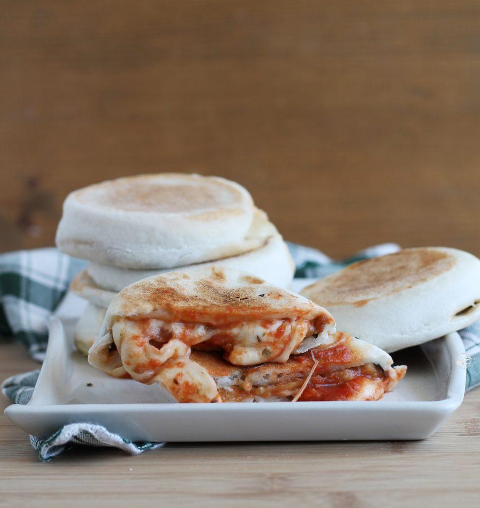 Mini galette à la parmigiana sans gluten - La Cassata Celiaca