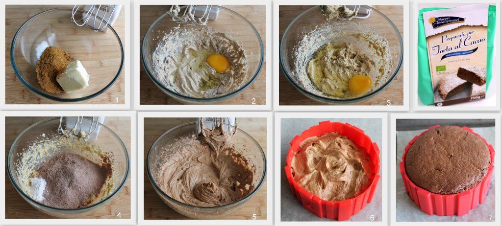 Naked cake aux myrtilles sans gluten - La Cassata Celiaca