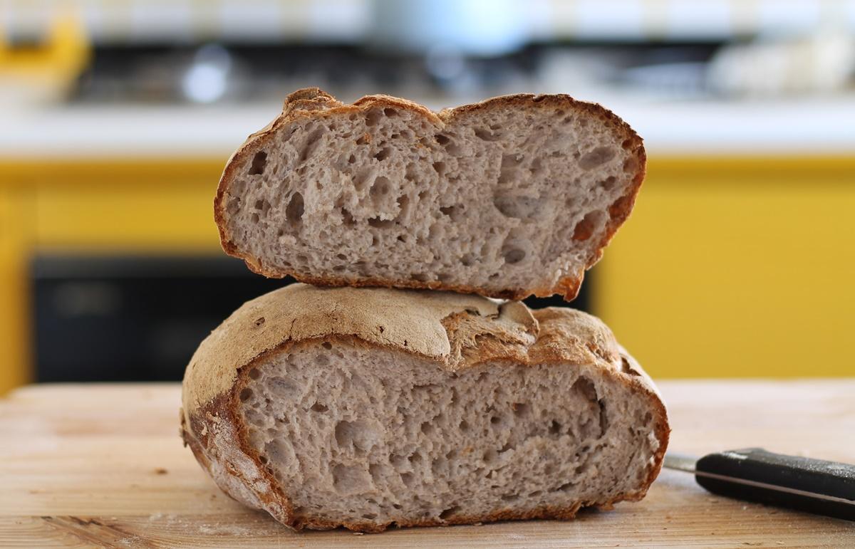 Pagnotta rustica senza glutine, la video ricetta - La Cassata Celiaca