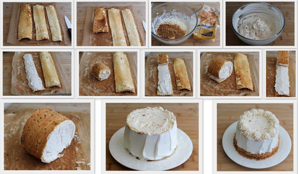 Torta amaretti e ciliegie senza glutine - La Cassata Celiaca