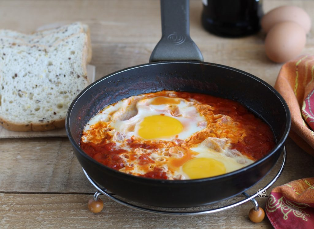 œufs en purgatoire - La Cassata Celiaca