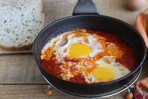 Uova in purgatorio- La Cassata Celiaca