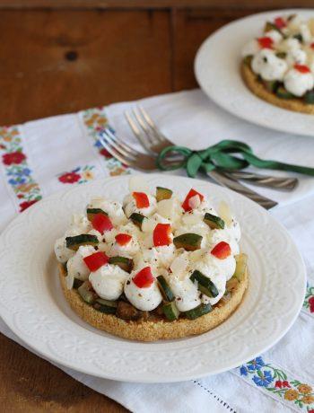 Cheesecake aux courgettes sans gluten - La Cassata Celiaca