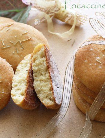 Focaccine senza glutine alla farina di ceci - La Cassata Celiaca