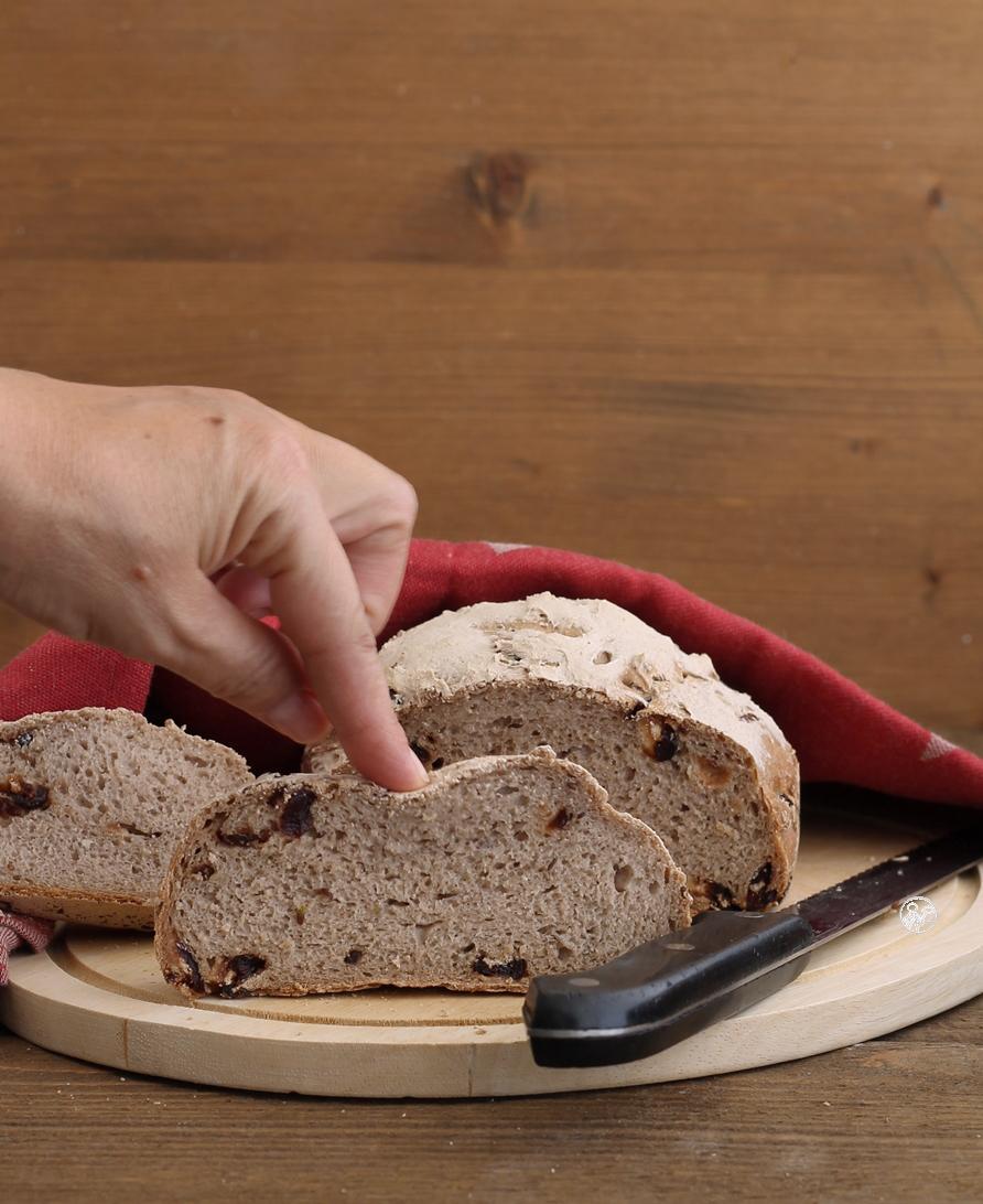 Pain sans gluten aux myrtilles et grains - La Cassata Celiaca