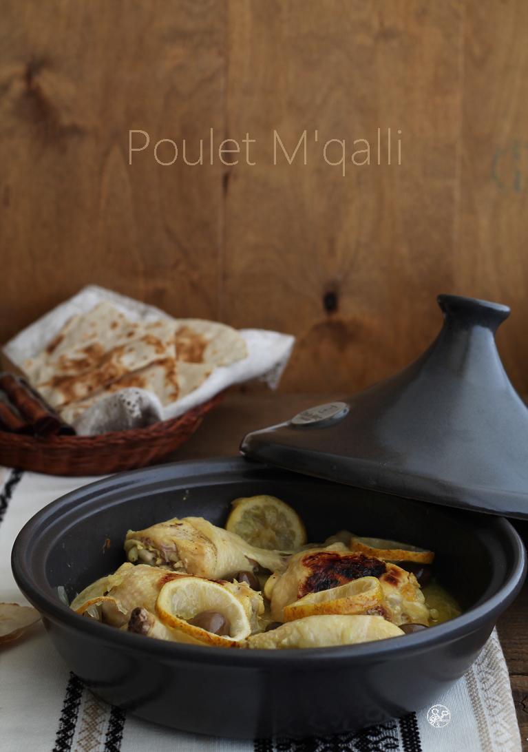 Poulet M'qalli sans gluten - La Cassata Celiaca