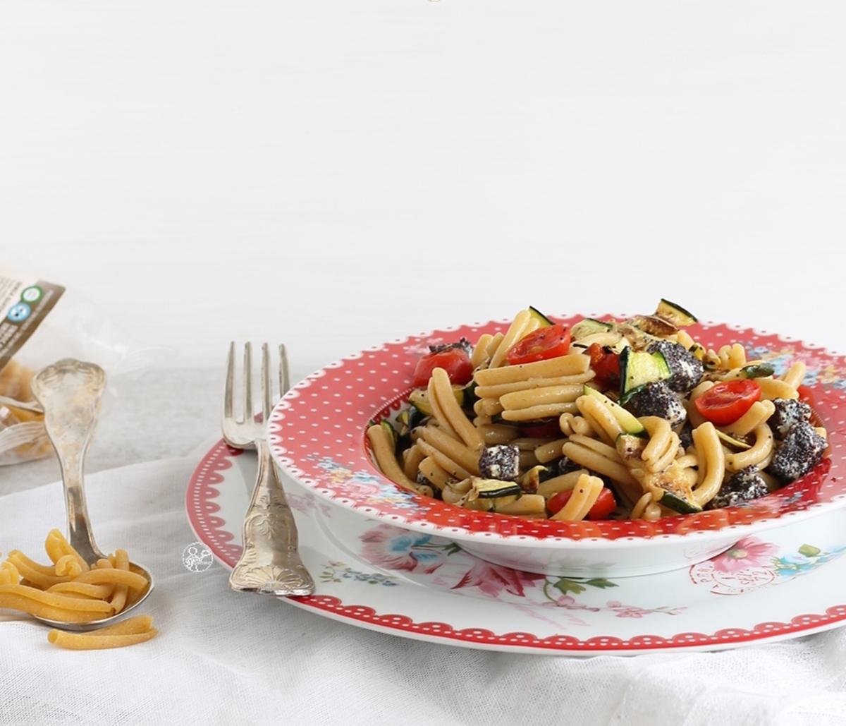 Strigoli senza glutine con pesce spada e zucchine - La Cassata Celiaca