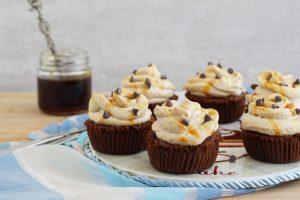 Cupcakes moka-caramello senza glutine - La Cassata Celiaca
