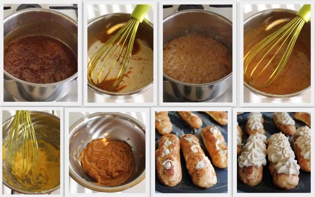 Eclair au caramel de Biasetto mais sans gluten - La Cassata
