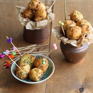 Beignets aux courgettes sans gluten - La Cassata Celiaca