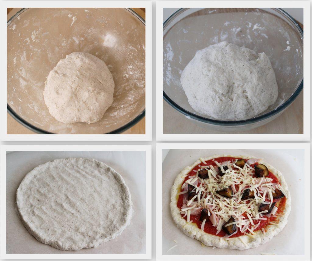 Pizza senza glutine e senza mix dietoterapici - La Cassata Celiaca