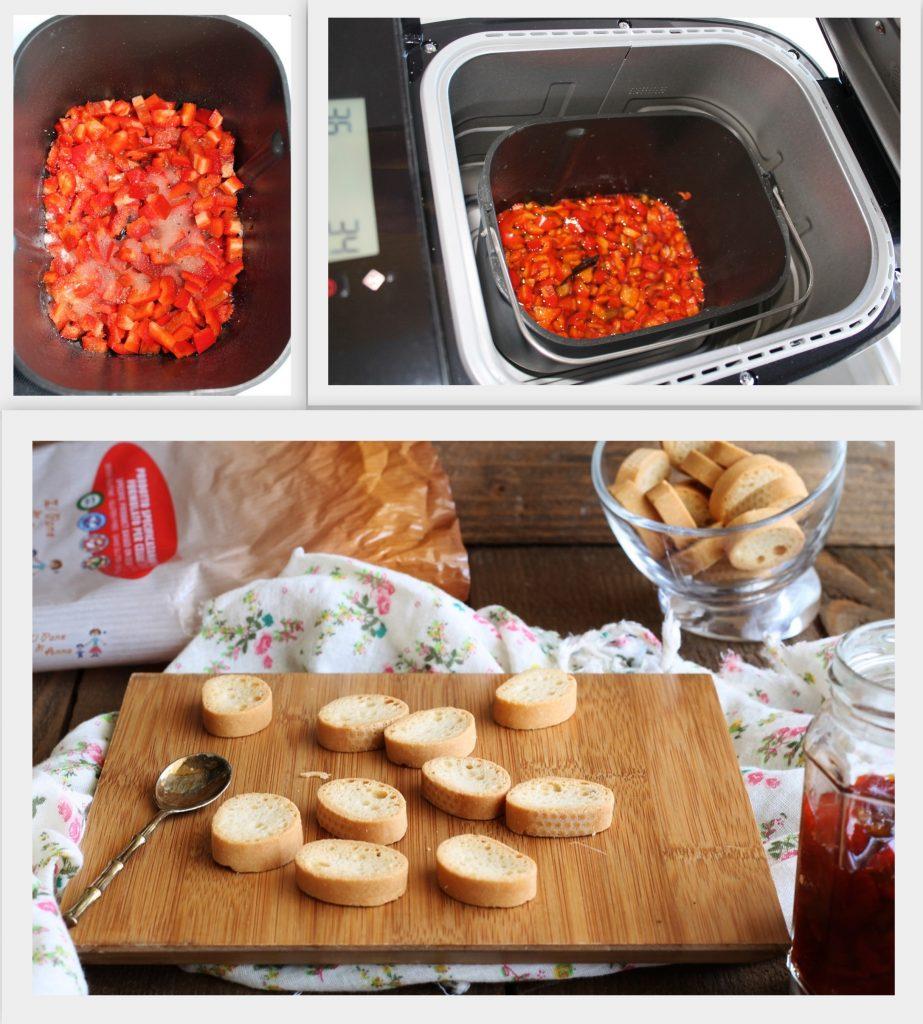 Petit crisp sans gluten à la confiture de poivrons - La Cassata Celiaca