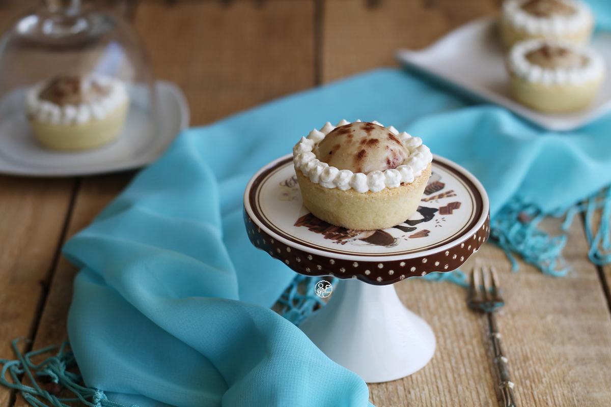 Tartellette ciocco-caffè senza glutine - La Cassata Celiaca