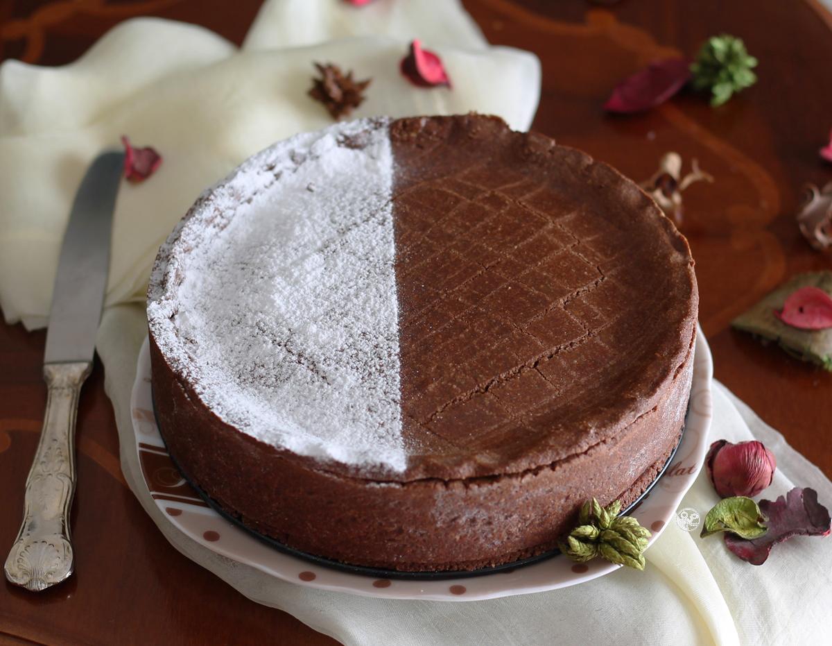 Torta basca al cioccolato senza glutine - La Cassata Celiaca