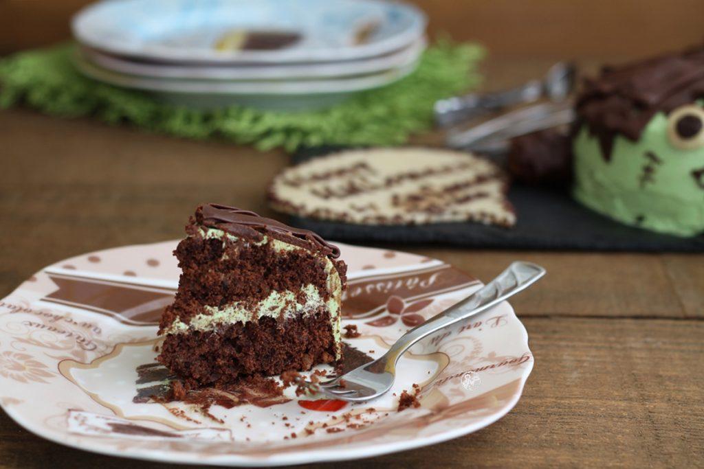 Gâteau pour Halloween sans gluten - La Cassata Celiaca