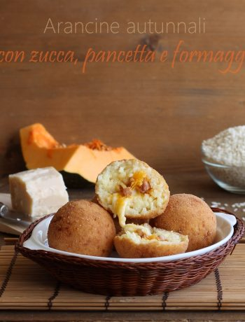 Arancine alla zucca senza glutine per Nutrifree - La Cassata Celiaca