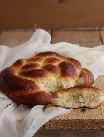 Brioche intrecciata senza glutine - La Cassata Celiaca