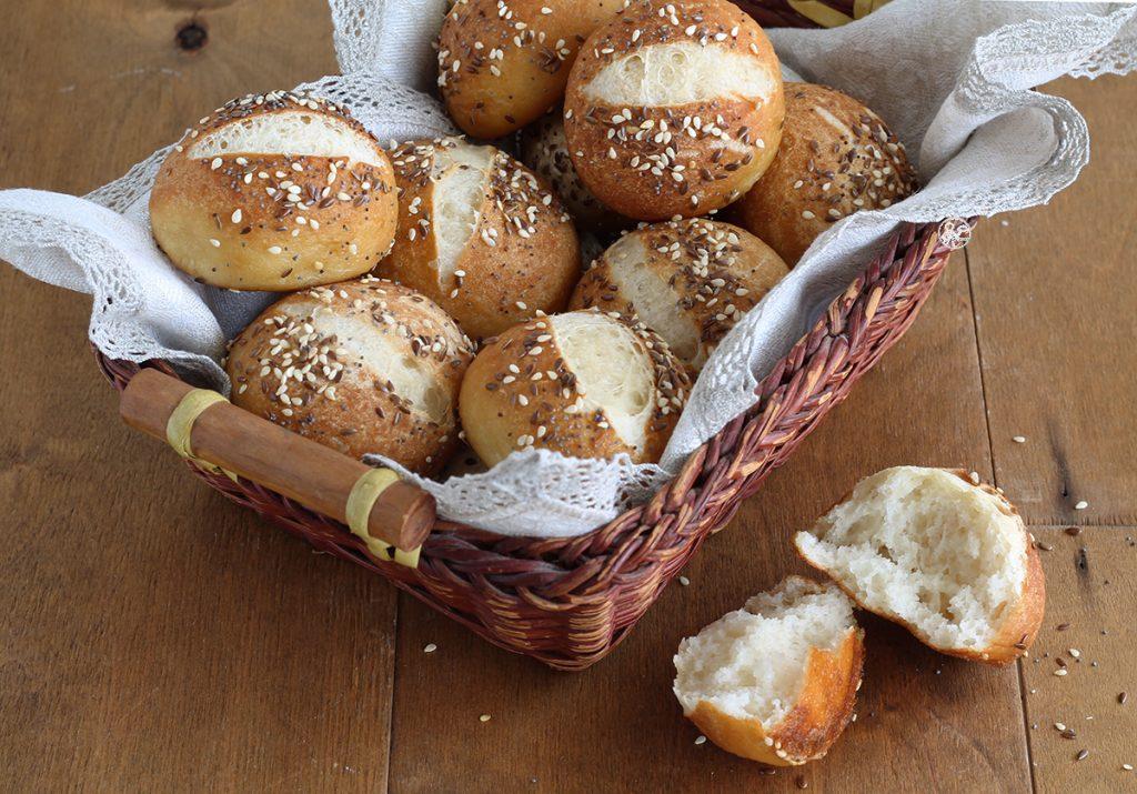 Petits pains Laugenbrot au levain et sans gluten - La Cassata Celiaca