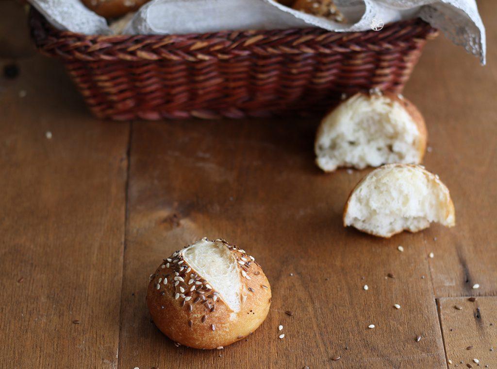Petits pains Laugenbrot au levain et sans gluten - La Cassata